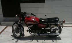 ?????: RD 350.00 ????: 1985 ??????: ????? rd 350 for sale ------- HT ,1985 MODEL, COMPLETE PAPERS WITH TAX PAIDUP TO 2017, CHANDIGARH REGISTRATION, RED COLOUR, BIKE IS IN PERFECT CONDITION, NO ENGINE WORK REQUIRED NO PAINT WORK REQUIRED,PRICE