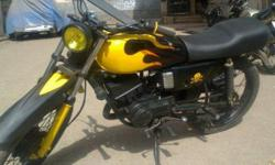 ????: 1991 ??????: ????? Yamaha RX-135,model-1991.modified with focus headlight.good conditioned.
