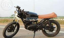 Fully modified bike.