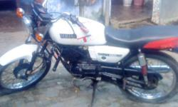 ??????: 35 ????????? ??? ????: 1996 ??????: ????? YAMAHA RX100 MODIFIED IN WHITE COLOR .THIS IS IN BEST CONDITION.