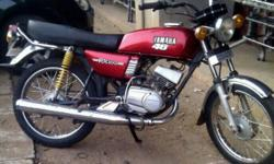 yamaha rx 100 japanese 1988 model for sale contact 9823458502