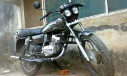 hav bit modified my yamaha with sock ups front and rear--a proton sIlencer and front duual head lamps...It giveS an avg of moRe than 30,,and even pulls wheeles lIke any thinG ..orgii sound of yamaha.bike is in top condtion.. if ur under 28 dn only contact