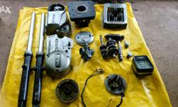 genuine yamaha rx 135 spares , reason for sale sold my bike so these spare are not required