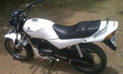?????: 1,998.00 ??????: 41 ????????? ??? ????: 1998 ??????: ????? YAMAHA RXZ 4 SPEED IN MINT CONDITION. ALL ORIGINAL PARTS. ALL PAPERS CLEARED. GOOD PAINT AND BOT MODIFIED YEZDI TYRES.FINAL PRICE 30000.