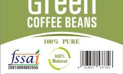 100% pure Green Coffee beans