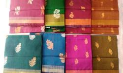 100 % pure silk cotton sarees .Hand loom,good quality.