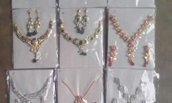 11 jewellery set 14 gram gold plated
