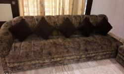 11 seater sofa set. 4-3-4 seats
