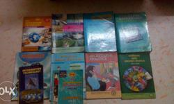 11th STD Commerce text books most of books are new If