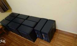 12 Gaming computers for sale. The configuration is