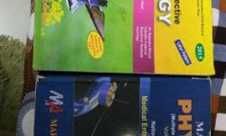 12 physics and biology both book in 200rs
