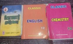 12 std classic guide for chemistry and English tamil