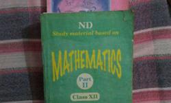 12th NCERT Maths Solution book