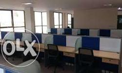1300 sq ft 25 seater plug & Paly office space for rent