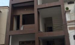 135 yards Double story house in a posh colony, of the