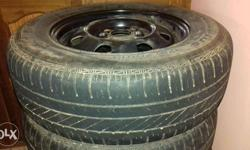 13/175 good year tyres(5 no.s) with disk for sale. 80%