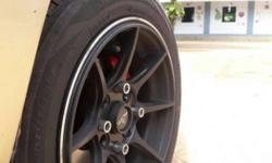 13 inch allows with bridgestone tyre suits for zen m800