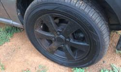 13 inch alloy wheels with two yokohama 175/60 tubeless
