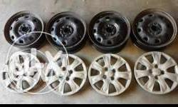 13 Inch wheel rim total 8 piece available in good