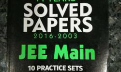 14 Years' Solved Paper 2016-2003 Jee Main 10 Practice