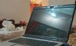 HP laptop 15.5 inch display 3gb ram, 500gb hard disk.