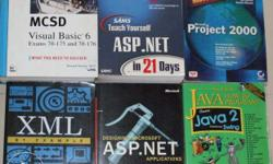 16 Computer / Misc Books - Some of the books are new