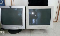 "Samsung 17"" crt monitor in working condition"