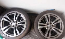"17"" EVo Alloy wheels with Nankang noblesport tyres"