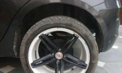 17 inch with 80% maal in tyre
