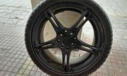 "17""alloy Wheel with tyres, 4pcs available."