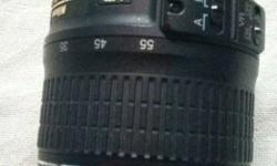 Vr Nikon Camera Lens not used 2 months old