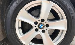 18 inch OE BMW X5 alloys immaculate condition , no