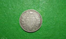 1940 coin of GEROGE 6th KING EMPEROR of 1 rupees for