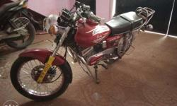 Bike is in excellent condition with good milage & front