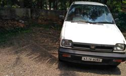 1994 maruti 800 a/c new papers & new battery new