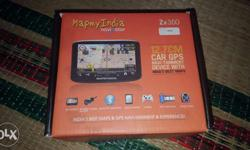 1.Map my india zx 350 gps for cars 2.Full option with