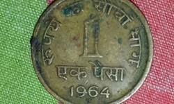 1 paisa 1964 very old and rare reasonable price