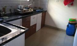 1BH ground floor flat available with modular kitchen