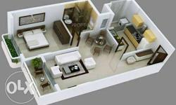 1BHK flat on rent with all facility,24*7 hot & cold