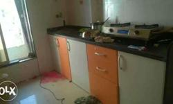 hii 1bhk untouched new flat in new society available..