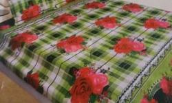 1double bed sheet 230cm* 230cn 2standard pillow covers