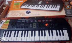 1month old & new condition.. Casio piono
