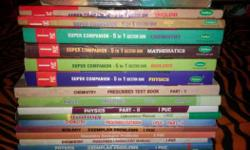 1st puc science books pcmb with 6 guides