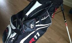 TaylorMade R11 Pure Lite Stand Bag The R11 Pure-Lite