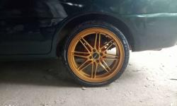 Good condition, new painted 17 inch alloy with good