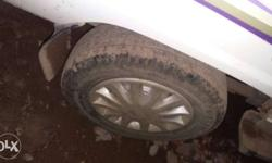 black colour.full condition.brand new mrf tyre.used and
