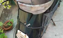 tvs scooty model (es) very good scooty..