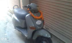 4 gear scooter with good condition& good pickup