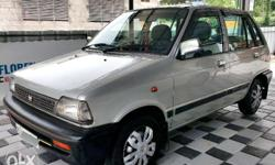 Well maintained Maruthi 800AC All tyres are new.