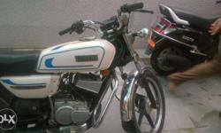Yamaha Rx135 in well maintained condition. No extra